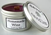 Homemade Wine Scent Candle