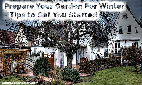 Prepare your yard and garden for winter tips to get started
