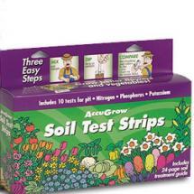 AccuGrow Soil Test Strips