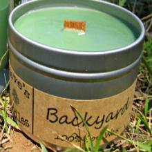Backyard Scent Candle