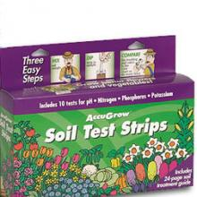 AccuGrow Soil Test Strips