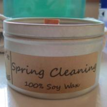 Spring Cleaning Scent Candle